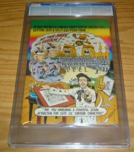 Coochy Cooty Men's Comics #1 CGC 9.6 highest graded - underground comix 1970 2nd