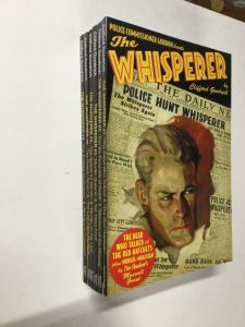 The Whisperer 1 2 3 4 5 6 1-6 Sanctum Books Pulp Reprints Nm Near Mint P19