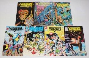 Vanguard Illustrated #1-7 complete series 1ST MR. MONSTER dave stevens 2 3 4 5 6