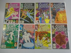 Silver Surfer Comic Lot (2nd Series) #1 - 88 (48 DIFF) 8.0 VF - 1987 - 1994