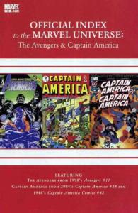Avengers Thor & Captain America: Official Index to the Marvel Universe #14, N...