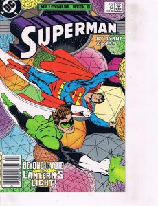 Lot Of 2 DC Comic Books Superman #14 and Reign of Superman #82 LH6