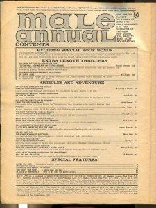 Male Annual #4 1966-Atlas-2nd Pussycat-Bill Ward-LSD-spicy pulp thrills-VG