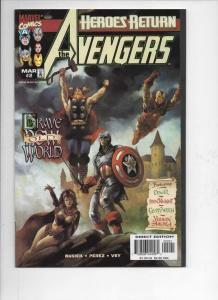 AVENGERS #2, NM-, Captain America, Thor, 1998, more Marvel in store