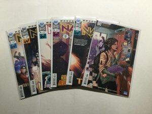 Naomi 1-6 1 2 3 4 5 6 Lot Run Set Near Mint Nm Issue 1 Is Variant Dc Comics