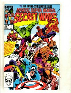 Secret Wars Complete Marvel Comics Series # 1 2 3 4 5 6 7 8 9 (NM) 10 11 12 HJ9