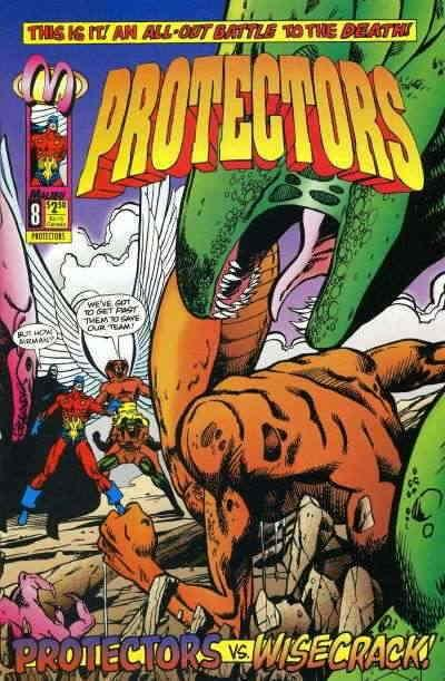 Protectors, The (Malibu) #8 VF/NM; Malibu | save on shipping - details inside