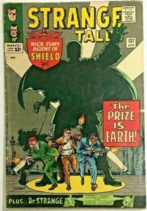 STRANGE TALES#137 VG/FN 1965 MARVEL SILVER AGE COMICS