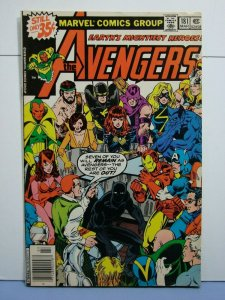 Avengers #188 (Marvel Comics, Oct 1979) SIGNED John Byrne Old School-Style L@@K