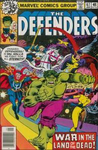 Marvel THE DEFENDERS (1972 Series) #67 VF