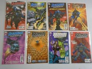 Batman Confidential run #1-8 8.0 VF (2006)