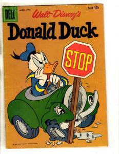 Donald Duck # 64 FN Dell Comic Book Walt Disney Mickey Mouse Daisy Minnie JL16
