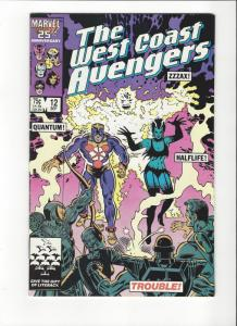 West Coast Avengers #12  NM