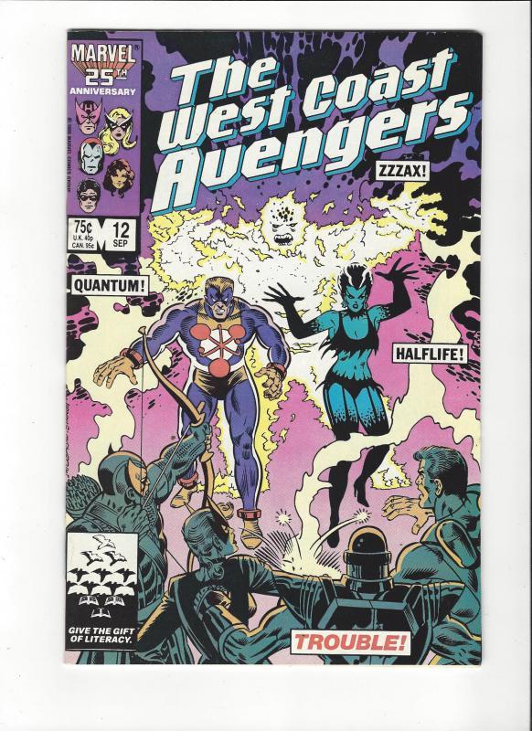 West Coast Avengers #12  NM