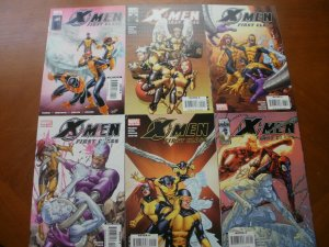 6 Near-Mint Marvel X-MEN FIRST CLASS Comic #11 12 13 14 15 16 Parker Cruz Coover