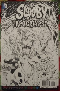 Scooby Apocalypse #1 NM Adult coloring book cover