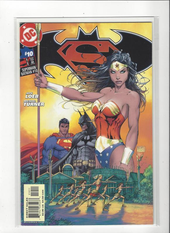 Superman/Batman #10 DC Comics Michael Turner Art Wonder Woman NM