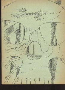 Historial FANZINE - MISTILY MEANDERING #22 (October 10, 1967) Cover: Don Simpson
