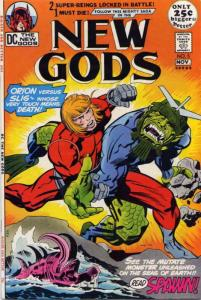 New Gods, The (1st series) #5 FN; DC | save on shipping - details inside