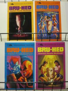 BRU HED (1994 SCHISM) 1-4  Complete beer-soaked series!