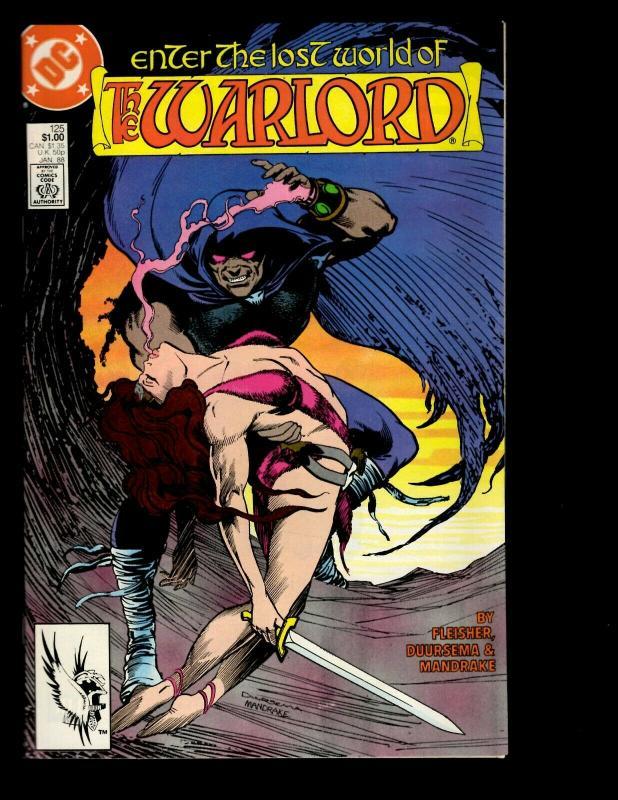 12 Warlord DC Comics # 122 123 124 125 126 127 128 129 130 131 132 133 GK20