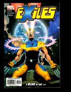 Lot Of 12 Exiles Marvel Comics # 45 46 47 48 49 53 56 57 58 70 71 72 X-Men EK10