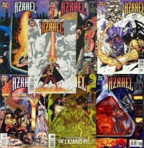 AZRAEL (1995 DC) 1-7 Fallen Angel complete story arc!