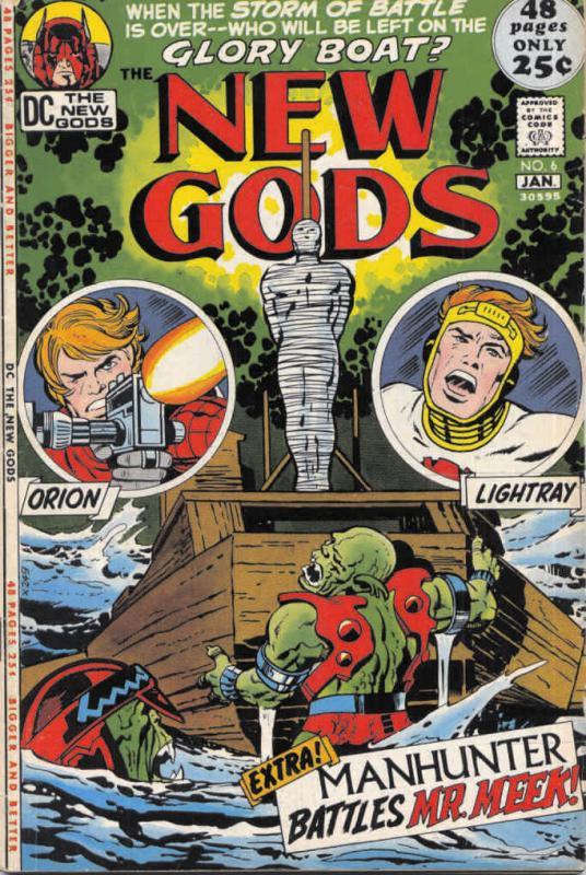 New Gods, The (1st series) #6 FN; DC | save on shipping - details inside