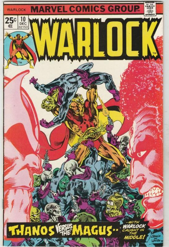 Warlock #10 (Dec-75) VF/NM High-Grade Adam Warlock