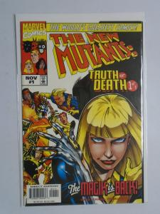 New Mutants Truth or Death #1, 8.0/VF, (1997)