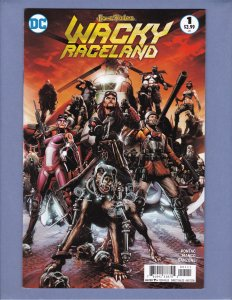 Wacky Raceland #1 NM Front/Back Cover Scans DC 2016