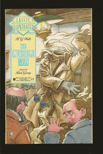 Classics Illustrated H G Wells The Invisible Man 1st Edition March 1991