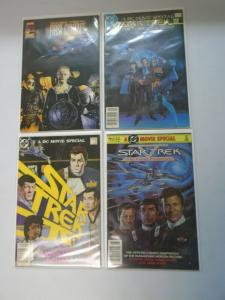 Star Trek movie comics 4 different issues 6.0/FN