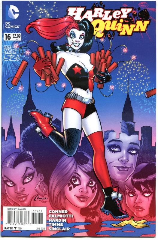 HARLEY QUINN #16, NM, New 52, Amanda Conner, Palmiotti, 2014,  more HQ in store