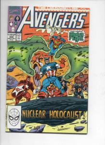 AVENGERS #324, VF/NM, Captain America, Crossing Line, 1963 1990, Marvel