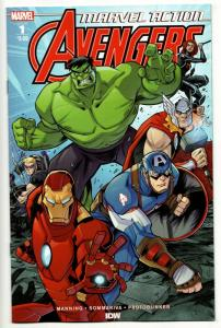 Marvel Action Avengers #1 (IDW, 2018) NM