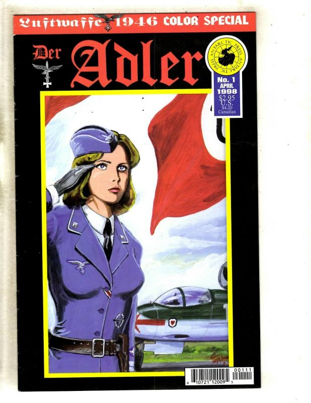 10 Luftwaffe 1946 Antarctic Press Comics Adler 1 Annual 1 Manual (6) Source+ FM8