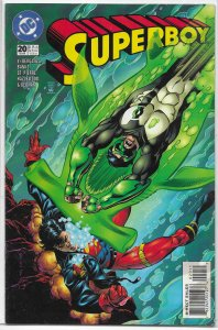 Superboy   vol. 3   #20 FN Green Lantern