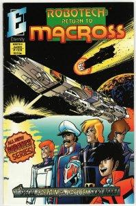 Robotech Return To Macross #1 (Eternity, 1993) FN/VF