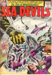 SEA DEVILS 11 VG  June 1963 COMICS BOOK