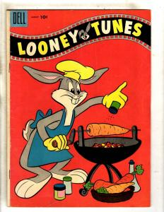 Looney Tunes & Merrie Melodies # 166 VG/FN Dell Comic Book Bugs Bunny JL15