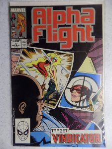 Alpha Flight #77 (1989)
