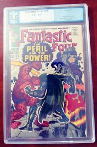 Fantastic Four #60 - Key Doom vs Thing Cover