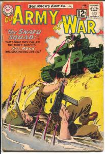 Our Army At War #117 1962-DC-Sgt. Rock-Joe Kubert-G/VG
