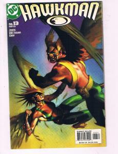 Hawkman #13 VF DC Comics Comic Book Johns 2003 DE10