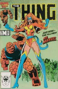 Thing, The #35 VF/NM; Marvel | save on shipping - details inside