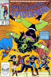 Spectacular Spider-Man (1976 series) #168, VF+ (Stock photo)