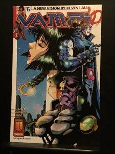 Vampi #6 (2001) Super high-grade white cover gem! NM Wow!