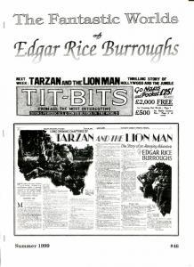 Fantastic Worlds of Edgar Rice Burroughs #46 1999-Dean-Bing Crosby-VF