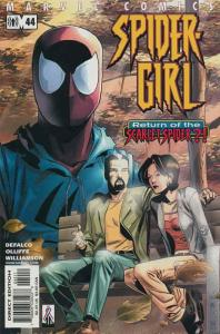 Spider-Girl #44 VF/NM; Marvel | save on shipping - details inside